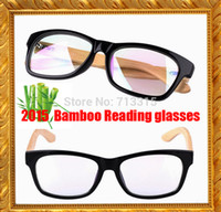 bamboo reading glasses - 2015 Bamboo custom made antireflective coating Non spherical reading glasses