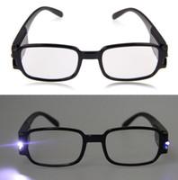1,0-4,0 multi Force Hommes Femmes Lunettes de lecture à double Led Eyeglass Spectacle dioptrique Magnifier Lumière UP 11-est