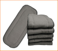 Wholesale Upgrade Super Quality Babyland Bamboo Charcoal inserts layers baby Diaper Liners Pieces