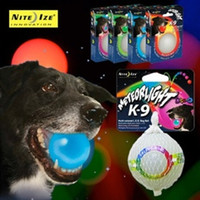 Wholesale Niteize Meteorlight K flash ball k9 toy ball meteor ball led light ball