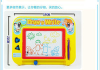 baby slate - Magnetic writing board writing board slate colored painted baby learning essential