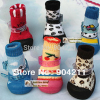 accessory footwear sales - 2015 on sale PROMOTION Good quality pet dog cat footgear footwear non slip shoes socks colors sizes dog shoes