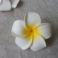 Cheap 6CM artificial foam eva flower hawaiian plumeria frangipani,diy craft for wedding party decoration&hair accessories&boutonniere!