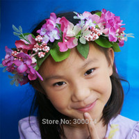 artificial christmas wreath - Artificial Floral Crown Headband for Wedding amp Christmas Decor Flowers Wreath Adult amp Children s Head Crown
