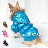 assure pink - HOTL SALE fashion quality assured colors winter warm dog clothes designer dog clothes FD104