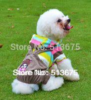bib brace overalls - Spring XS S M L XL Size New Pet snowflake pattern denim overalls dog Bib dog clothes trousers with braces