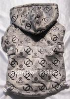 Wholesale Fashion Brand Pet Dog Clothes Winter High Quality Dog Hooded Pet Warm Coat XS S M L XL XXL