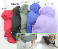 big dog outerwear - 2015 New Brilliant Big Pet Clothes Large Dog Outerwear Winter Skiing Hooded Supply For Big Dogs