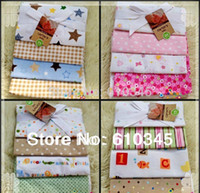 Wholesale 4pcs Carter s blanket baby receiving blankets Carters baby pack blanket flannel swadding for infant toddler s bedding