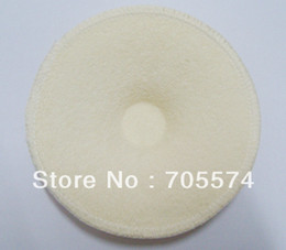 Wholesale Hot Bamboo Fiber Washable High Absorbent Terry Fabric Thicker Nursing Pads Feeding Pads