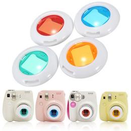 Cerca filtros en Línea-4colors Un filtro Set Primer plano de la lente para Fujifilm Instax Mini 7s Para 8 Mini 50s cámara