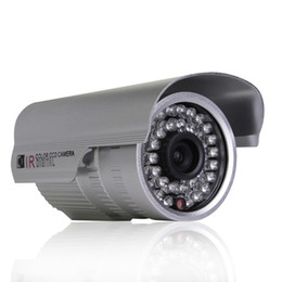 Vidéos hd ir gratuits en plein air en Ligne-H.264 CCTV Caméra 1200TVL extérieure HD étanche Menu IR Night Vision OSD Home Video Security Surveillance Camera Support gratuit
