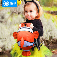 Wholesale HOT New Cartoon Cute Animal Finding Nemo Children Mini School Bags Kids Backpacks Boy Girl Toddlers Backpack xym923
