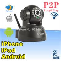 audio encryption - Pan Tilt P2P Wireless Wifi IP Camera Way Audio Network cameras With IR Nightvision Wireless Encryption LED