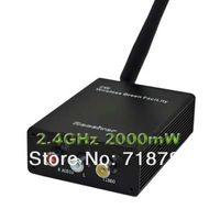 av signal sender - 2 GHz Wireless W mW Audio Video AV Signal Sender Transmitter amp Receiver CCTV