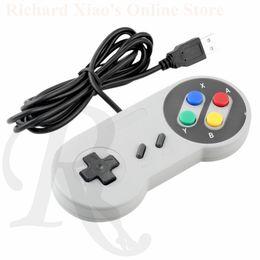 Joystick aleatorio Joypad de la manija del juego del regulador del USB de Wholesale-1 x para la PC para los reguladores Promoción joystick usb on sale desde joystick usb proveedores