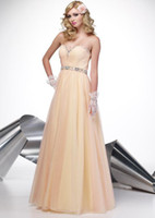 Reference Images  A-line Beaded Sweetheart Ruched Bodice Beaded Waistband Floor-length Bridesmaid Dress Prom Dress