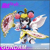 batman brave - SD am BB Sankokuden Brave Battle Warriors Diao Chan Customize Mobile Suit Model Kit Fighting Action Kit