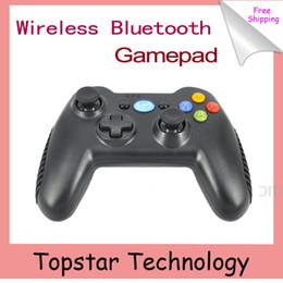Al por mayor-2015Wamo 2.4GHz Wireless Gamepad para Mini Bluetooth Wireless Wifi Gamepad Joystick para el regulador del juego de Android iOS PC del teléfono celular joystick pc deals desde pc joystick proveedores