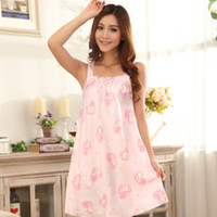 Wholesale Women Imitated Silk Flannel Nightgown Sleepwear Robes Intimates Pajamas For Girl