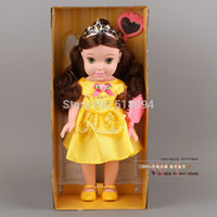 belle toddler - My First Fairy Tales Toddler Doll13 quot cm Princess Belle Doll Girls Gift Baby Toys DSFG045