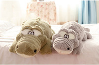 adult baby stuff - 90cm New Arrival Stuffed animals Big Size Simulation Crocodile Toy Cushion Pillow Toys for adults