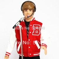 bieber baby - Top Quality Genuine Singer Justin Bieber Ken doll Toy Model Figure Children Best Gift