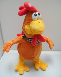 Wholesale wholesle cm funny Electric toys design can sing and dance the cock crazy chicken Electric presents gifts