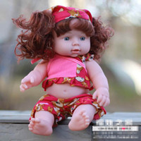 african doll clothes - 28CM Imitation Baby Dolls Russian African Chinese Girls amp Boys Clothes Changeable OD0008
