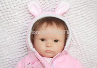 Wholesale NPK Reborn Baby Dolls Silicone Reborn Babies inches Lifelike Baby Toys For Girls