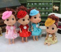 baby bouquet gifts - 1pc Creativ new cm princess cartoon bouquet bag flower material dolls car wedding gifts small
