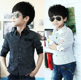 Wholesale Children s Clothing long sleeve shirt boys Baby Boys fashion Designer Brand Shirts Kids Fashion Blouse Outwear blusas