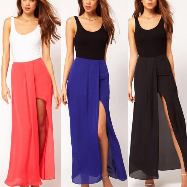 Side Split Skirt Maxi | Jill Dress
