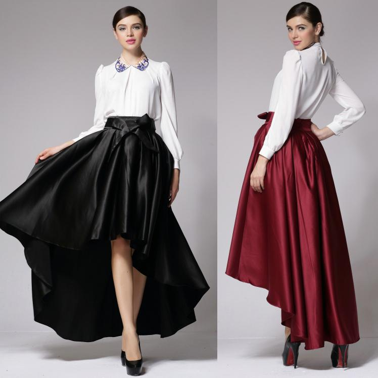 Cheap Satin Maxi Skirt Size | Free Shipping Satin Maxi Skirt Size ...