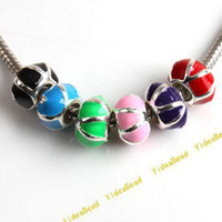 Wholesale Beads Assorted Mixed Charms Beads Enamel For Jewelry Beads