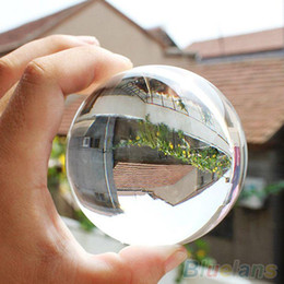 Wholesale mm Rare Natural Quartz Crystal Sphere Clear Magic Ball Chakra Healing Gemstone UBC TWP