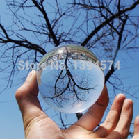 Wholesale MM Rare Natural Quartz Magic Crystal Healing Ball bola de cristal transparente