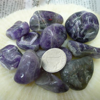 amethyst ore - Natural Polished Amethyst Large Tumbled Stone Ore Raw Gems Stone Healing