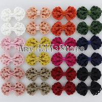 apparel for kids baby - Boutique FabricTextured Hair Bow WITHOUT Kids Hair Clips For Baby Girls Apparel Hair Accessories