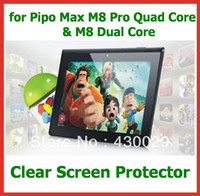 pipo m8 pro - 10pcs Clear Screen Protector Film Size x161mm for Pipo Max M8 Pro Quad Core M8 Dual Core quot Tablet PC No Retail Package