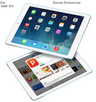 amazon retail sales - Retail Sale For Ipad Air Screen Protector Sticker H Anti Scratch Glossy Super Clear Guard Film With Retail Package Free Ship