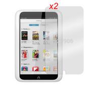 Cheap 2pcs lot Anti-Glare Anti-Fingerprint Guards Matte Screen Protector Film For Barnes & Noble Nook hd 7 Tablet PC Free Shipping