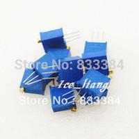 ¡ Envío gratis! 3296W-104 100K 20pcs 3296W VR resistor variable VR variable resistor 100R - 1M paquete de componentes electrónicos