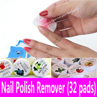 wet tissue paper - Scented Nail Polish Remover Fruit Flavor Pads Flower Paper Towel Wet Wipes Cleans Nail Art Vanish Eraser Nonwoven Tissue Set