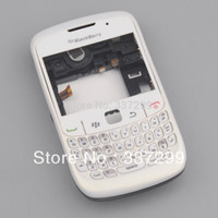 Wholesale High Quality White Full Housing Cover Case for Blackberry Curve Original OEM
