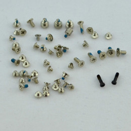 Wholesale DHL lowest price full complete screw screws set kit repairment parts for iphone G th gen