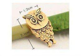 New Cute Vintage Owl Earrings Fashion Retro Alloy Ear Stud Earring Women's 2011 Hot Sales 30air lot