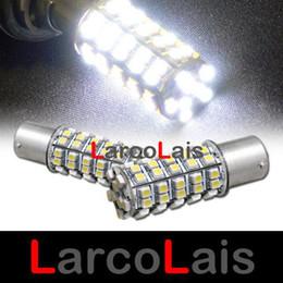 2pcs White 68 LED Lamp 1157 BAY15D 1210 Car Turn Brake Reverse Tail Singal Indicator Light Bulb
