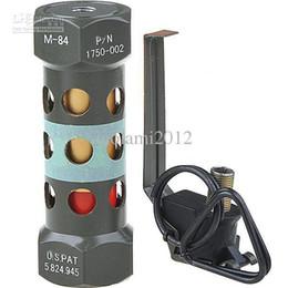 Wholesale Good Tactical Metal M84 Stun Grenade Dummy Model Kit Desktop Ornament Army Green