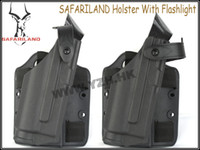 Cheap SAFARILAND Holster With Flashlight glock